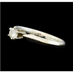 0.25 ctw Diamond Ring - 14KT White Gold