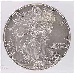2007 American Silver Eagle Dollar Coin