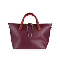 Chloe Baylee Crimson and Fig Crossbody Tote Bag