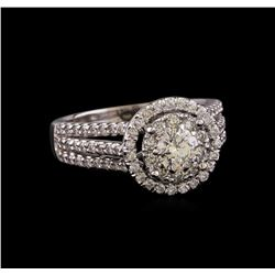 1.26 ctw Diamond Ring - 14KT White Gold