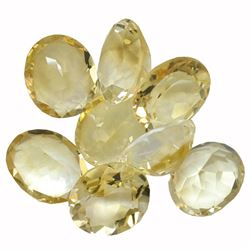 34.26 ctw Oval Mixed Citrine Quartz Parcel