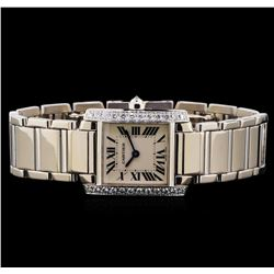 Cartier 18KT White Gold Watch