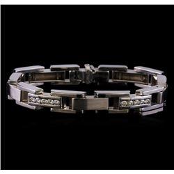 2.50 ctw Diamond Bracelet - 14 KT White Gold