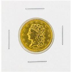 1834 $5 Details Classic Head Plain 4 Gold Coin