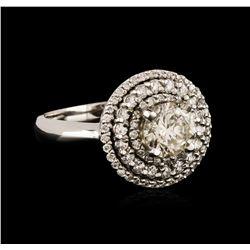 14KT White Gold 1.81 ctw Diamond Ring