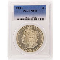 1880-S PCGS MS63 Morgan Silver Dollar
