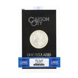 1883 MS63 Carson City Uncirculated Silver Dollar