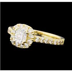 1.25 ctw Diamond Ring - 14KT Yellow Gold