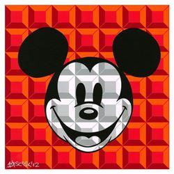 8-Bit Block Mickey (Red)