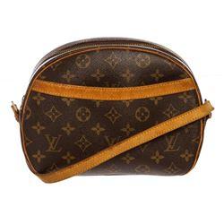 Louis Vuitton Monogram Canvas Leather Blois Crossbody Bag
