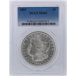 1885 PCGS MS65 Morgan Silver Dollar