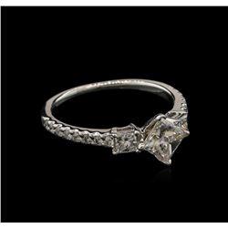 1.14 ctw Diamond Ring - 14KT White Gold