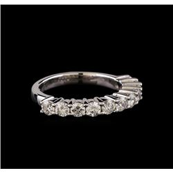 1.10 ctw Diamond Ring - 14KT White Gold