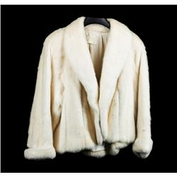 Natural White Mink Jacket