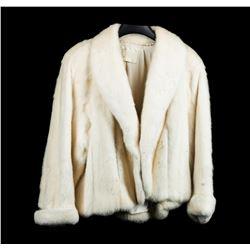 Natural White Mink Jacket