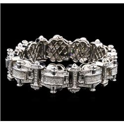 10.00 ctw Diamond Bracelet - 14KT White Gold
