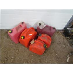 5 Gas Cans