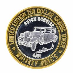 .999 Silver Whiskey Pete's Casino Jean, Nevada $10 Limited Edition Gaming Token