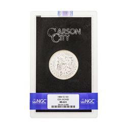 1884-CC $1 Morgan Silver Dollar Coin NGC MS62+ GSA