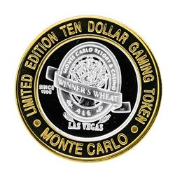 .999 Silver Monte Carlo Resort & Casino Las Vegas, NV $10 Limited Edition Gaming
