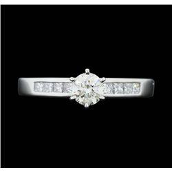 Platinum 0.97 ctw. Diamond Wedding Ring