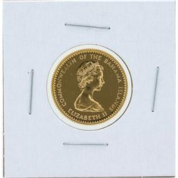 1971 $20 Commonwealth of the Bahamas Gold Proof Coin