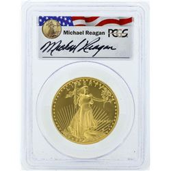 1991-W $50 American Gold Eagle Coin Reagan Legacy Series PCGS PR69DCAM