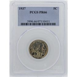 1937 Buffalo Nickel Proof Coin NGC PF66