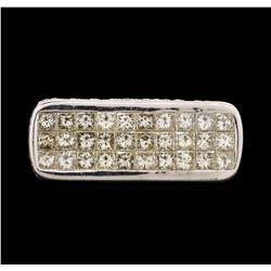 18KT White Gold 3.80 ctw Diamond Ring