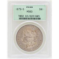 1879-S $1 Morgan Silver Dollar Coin PCGS MS63