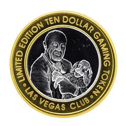 .999 Silver Las Vegas Club $10 Limited Edition Casino Gaming Token