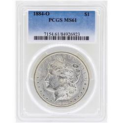 1884-O $1 Morgan Silver Dollar Coin PCGS MS61
