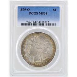 1899-O $1 Morgan Silver Dollar Coin PCGS MS64