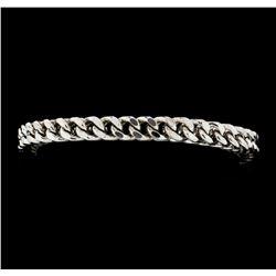 10KT White Gold Ladies Bracelet