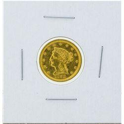 1852 $2 1/2 Liberty Head Quarter Eagle Gold Coin