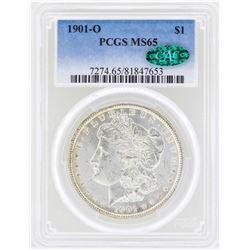 1901-O $1 Morgan Silver Dollar Coin PCGS MS65 CAC