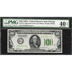 1928A $100 Federal Reserve Note Fr.2151-G PMG Extremely Fine 40EPQ
