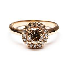14KT Rose Gold 1.27 ctw Round Cut Diamond Engagement Wedding Band Ring