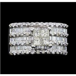 18KT White Gold 1.85 ctw. Diamond Ring
