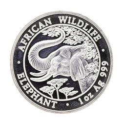 2015 1 oz. Silver Somalian African Elephant Coin