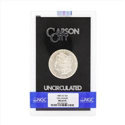 1883-CC $1 Morgan Silver Dollar Coin GSA NGC MS63PL