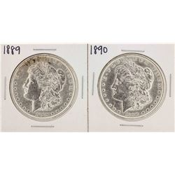 1889-1890 $1 Morgan Silver Dollar Coins