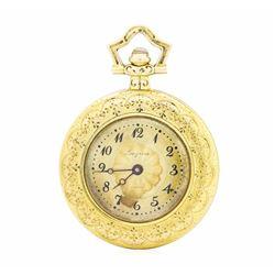 14KT Yellow Gold Longines Pocketwatch