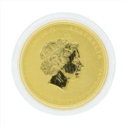 2015 Australia 1/10 oz Lunar Year of the Goat Gold Coin