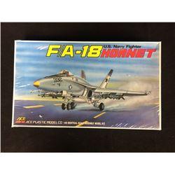 F/A-18 HORNET U.S NAVY FIGHTER PLASTIC MODEL KIT (1/48 SCALE) IN BOX UNBUILT