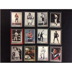 VINTAGE BOXING TRADING CARDS LOT