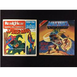 SPIDER-MAN & MASTERS OF THE UNIVERSE RECORDS (45'S)