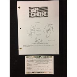 "AUTOGRAPHED OFF CENTRE ""SCARY SITCOM"" TV SHOW DRAFT (EDDIE KAYE THOMAS, SEAN MAGUIRE, LAUREN STAMILE"