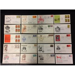 CANADIAN FIRST DAY COVERS (1962-63)