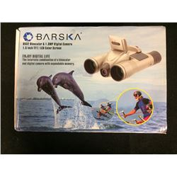 BARSKA 8 X 32 BINOCULAR & 1.3 MP DIGITAL CAMERA (1.5 INCH TFT/ LCD COLOR SCREEN) IN BOX